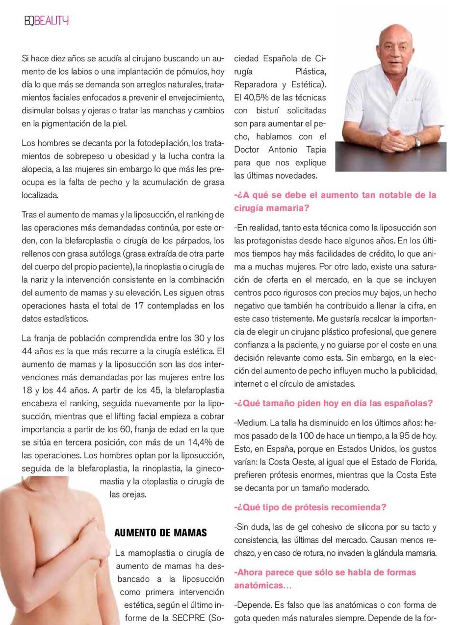 Dr Antonio tapia cirugia plastica y estetica BQ Magazine